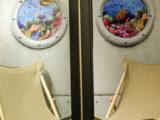 realizace 3D malby jako iluze pohledu z okna ponorky