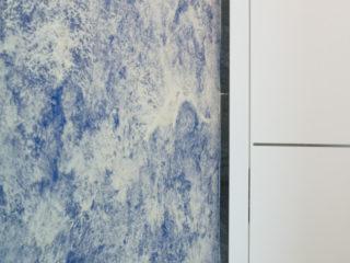antickou zeminu jsme aplikovali v koupelně klienta