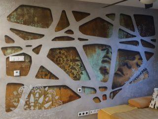 mandala beton